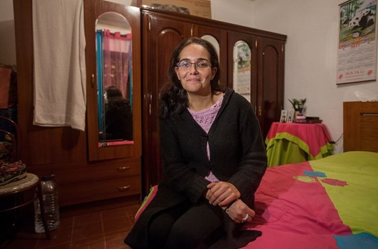 Raptor de Anabela queria viver em Espanha