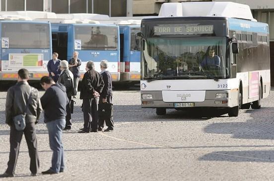 Controlo mais apertado nos transportes públicos