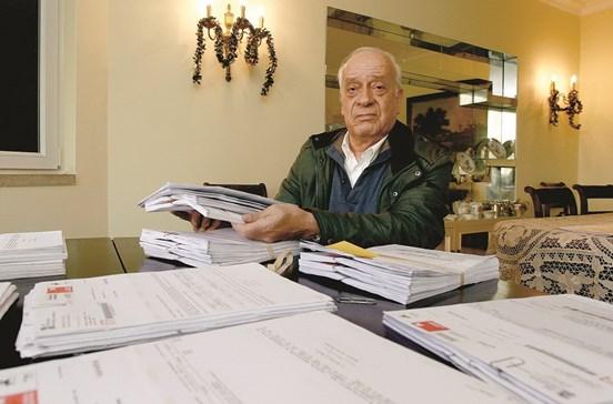 Recebeu 1500 cartas do Fisco em 45 dias