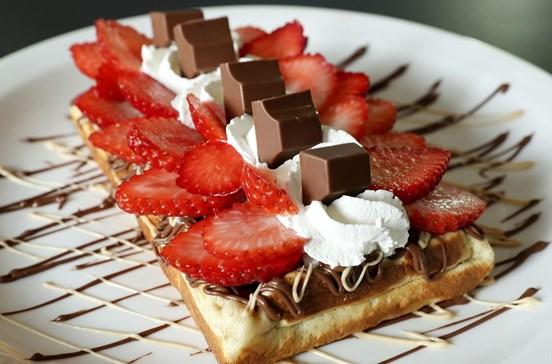 Woody's Waffle Shop: Deliciosa (e doce) tentação