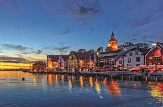 Stavanger à beira-mar