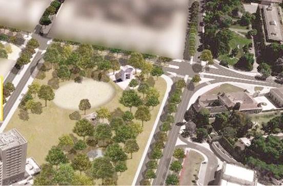 Lisboa vai criar jardim na Praça de Espanha