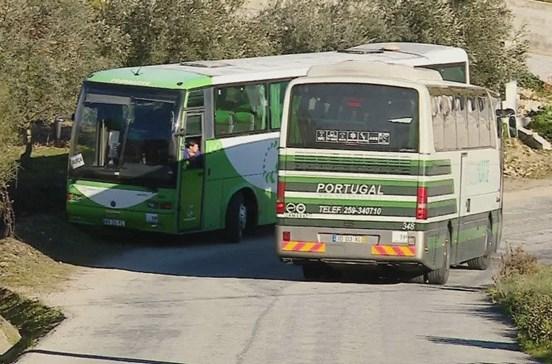 Ferido grave em atropelamento por autocarro escolar
