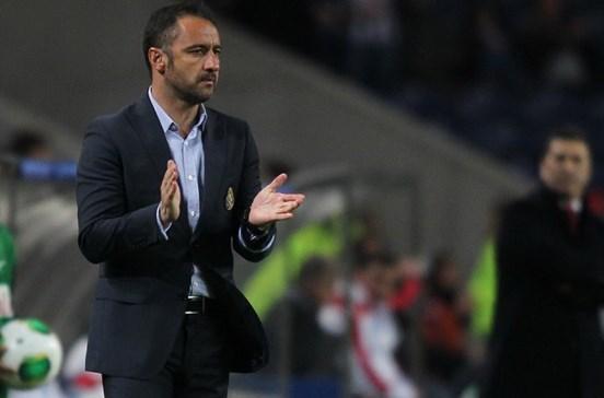Bruno de Carvalho reserva Vítor Pereira