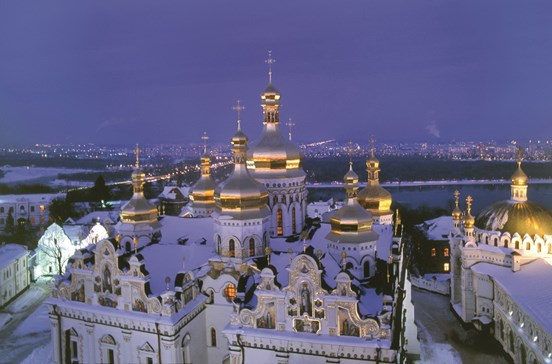 Ucrânia: Uma visita à capital das cúpulas douradas