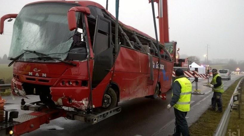 Vítimas de acidente em França transladadas para Portugal