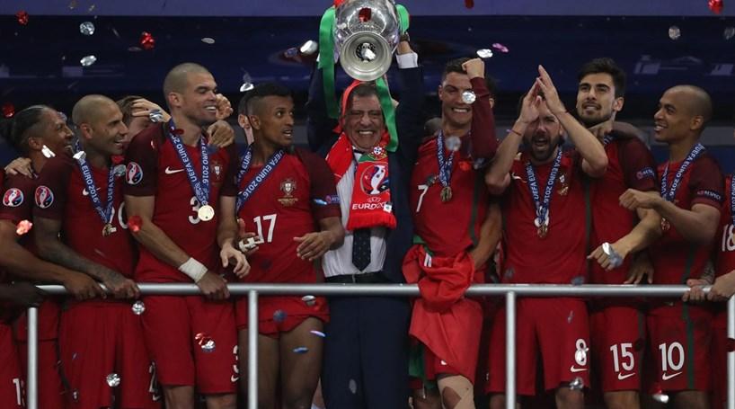 Seleção portuguesa e Ronaldo nomeados para os Laureus