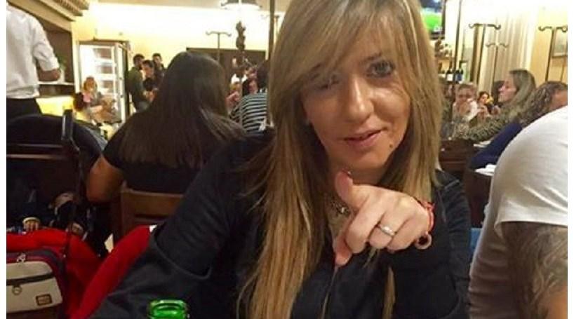 Maria Leal diverte-se com stripper