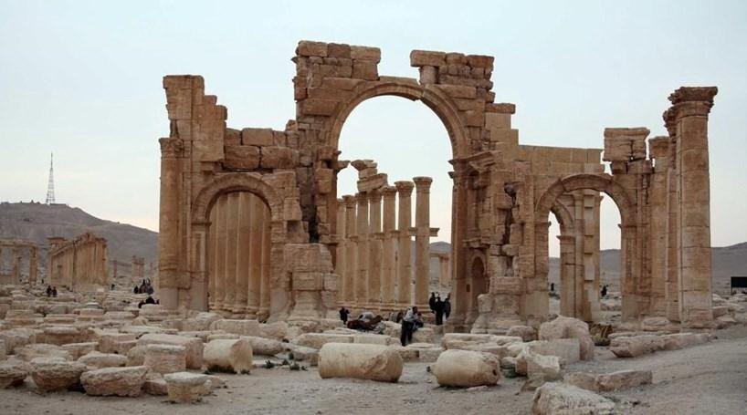 Daesh colocou explosivos em sítios arqueológicos de Palmira
