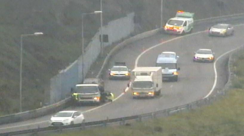 Acidente na VCI condiciona trânsito no Porto