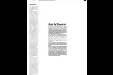Página em branco em protesto
