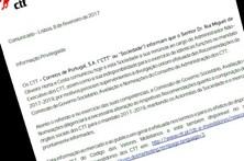 Comunicado dos CTT anuncia demissão de Rui Horta e Costa