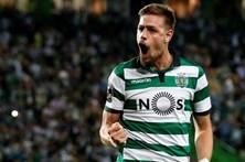 Opção de compra de Coates custou 4,72 milhões de euros ao Sporting