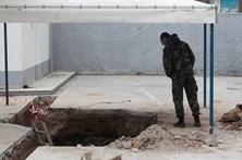 Bomba da II Guerra Mundial desarmada na Grécia