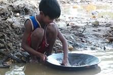 A vida numa mina de ouro nas Filipinas