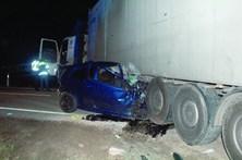 Homem morre em colisão com pesado