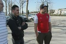 Adeptos aguardam partida entre Benfica e SC Braga