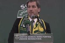 """Bruno de Carvalho cita Futre: """"Estou concentradíssimo"""""""