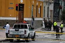 Explosão na capital da Colômbia faz um morto e 31 feridos