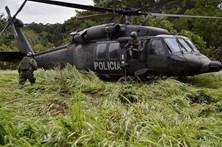 Polícia colombiana anuncia destruição de 168 laboratórios de cocaína