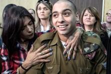 Soldado israelita condenado a 18 meses de prisão por homicídio apela da sentença