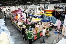 Já se respira o espírito de Carnaval na Nazaré