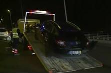 Trânsito bloqueado na ponte Vasco da Gama após acidente