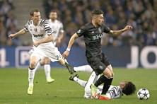As melhores imagens do FC Porto-Juventus