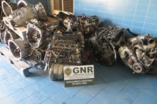GNR apreende centenas de motores de viaturas roubadas