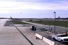 Vídeo mostra aterragem arriscada de Harrison Ford