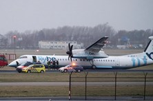 Avião falha aterragem no aeroporto de Amesterdão