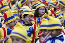 Oito mil crianças mascaradas desfilam pelas ruas de Torres Vedras
