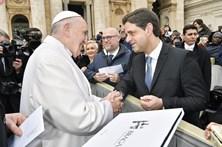 Ricardo Rio encontrou-se com o Papa no Vaticano