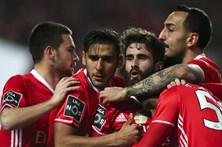 As melhores imagens do Benfica-Chaves
