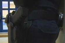 Armas da PSP foram desviadas com carregadores e munições