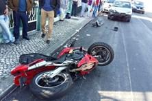 Homem despista-se de mota e fica em estado grave