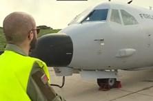 Força aérea faz transporte de emergência na Madeira