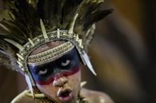 As imagens do segundo dia de Carnaval em São Paulo