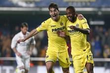 Real Madrid recupera de 0-2 e vence Villarreal