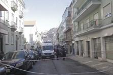 Deslizamento de terras em Lisboa provoca um ferido