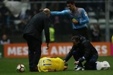 Corona sofreu uma entorse traumática no jogo do FC Porto com o Boavista