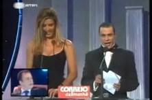Humberto Bernardo engana-se na cerimónia de Miss Portugal