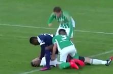 Ex-jogador do Olhanense salva vida a adversário