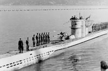 Bomba encontrada na área em que submarino alemão foi afundado