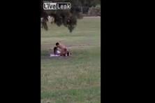 Casal é apanhado pela polícia a fazer sexo em público