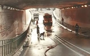 Chuvas torrenciais provocam inundações em Olhão