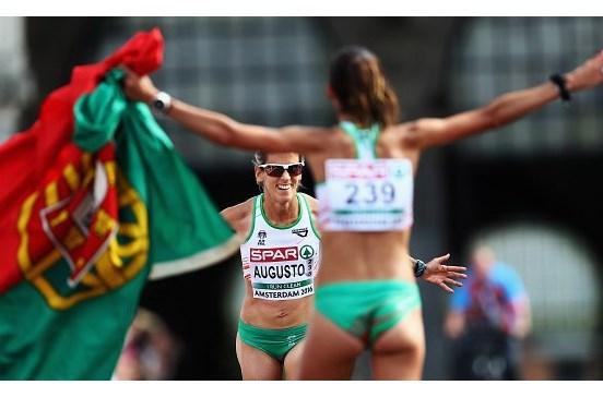 Jéssica Augusto termina Meia Maratona de Barcelona em 3.º lugar