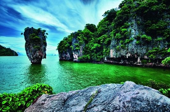 O paraíso renascido de Phuket