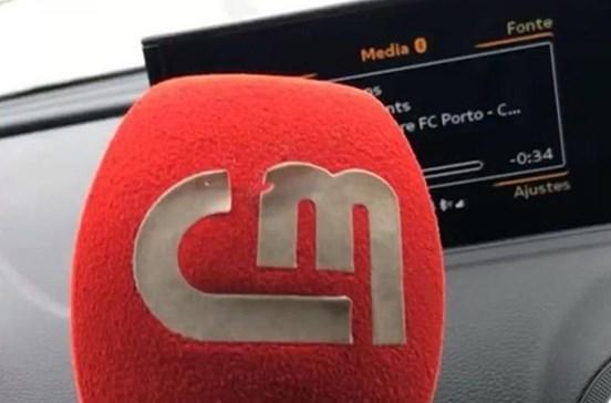 Microfone da CMTV roubado foi recuperado