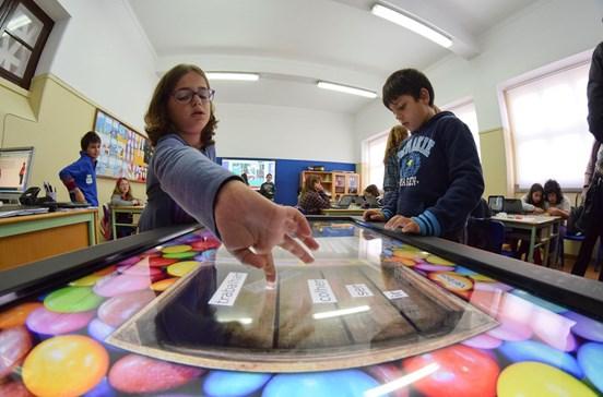 Quadros interativos para melhorar ensino em Oliveira de Azeméis